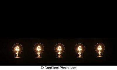 odizolowany, lampa żarzeniowa, czarnoskóry