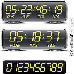 odliczanie do zera, chronometrażysta