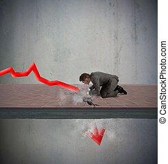 odmowa, statystyczny, należny, kryzys