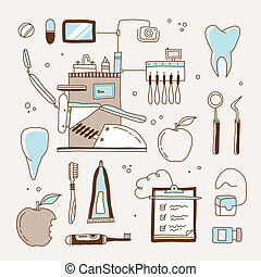 odontólogo, ícone