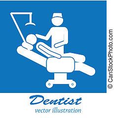 odontólogo, ícones