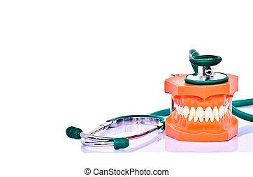 odontólogo, cuidado saúde