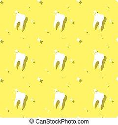 odontólogo, molar, cuidado dente, seamless, fundo
