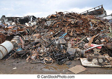 odpadki dziedziniec