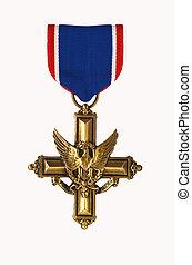 odróżniany, służba, krzyż