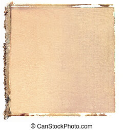 odsun, čtverec, polaroid