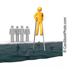 odwaga, ryzyko, i, powodzenie