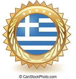 odznaka, grecja