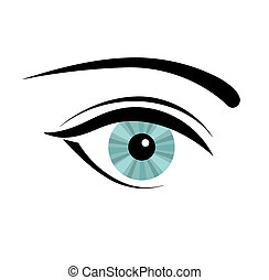 oeil femme