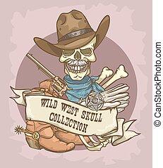 oeste selvagem, etiqueta