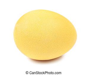 oeuf de pâques, jaune