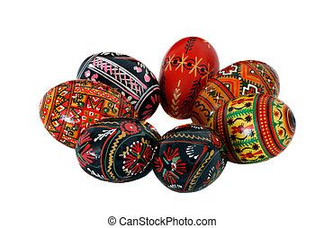 oeufs, paques, ukrainien