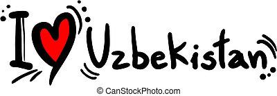 oezbekistan, liefde