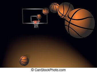 Of basketballs