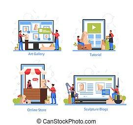 of, dienst, professioneel, apparaat, differernt, online, ...