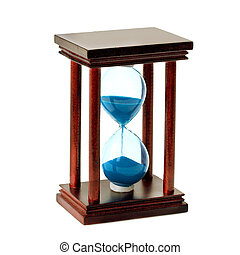 of glass hourglass