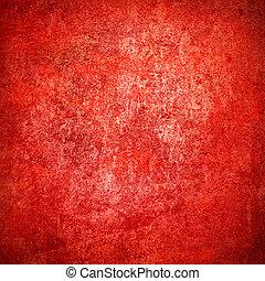 of, grunge, helder, textuur, abstract, papier, achtergrond, grens, schijnwerper, centrum, donker, frame, rood