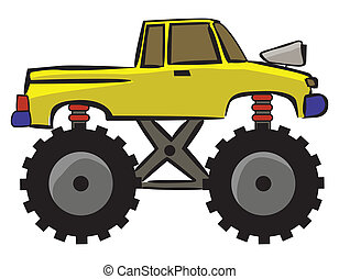 Off Road Car Cartoon
