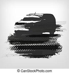 Off-road car element