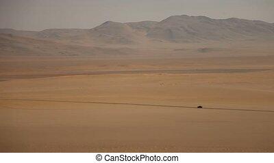 Off-Road in Desert