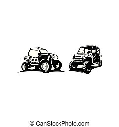 off-road, inspiración, coche, logotipo