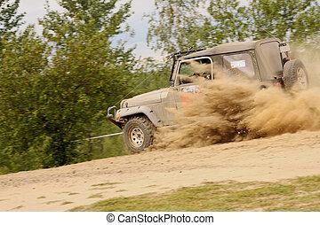 off-road - Raid 4x4 adventure race, tour in Swietochlowice,...