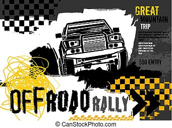 Off Road Rally Poster