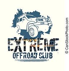 Off-Road Tire Logotype