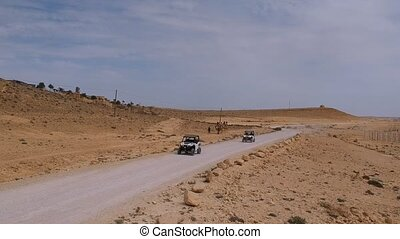 Off-road tours in the desert of Israel
