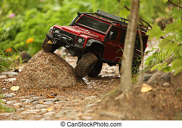 Off-road vehicle go around obstacles