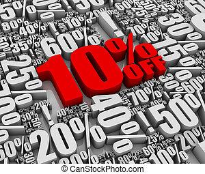 off!, vente, 10%