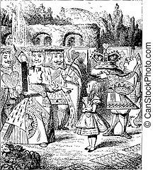 Off with her head - Alice's Adventures in Wonderland...