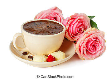 ?offee and roses