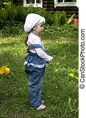 offended, kicsi lány