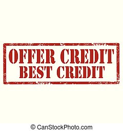 Offer Credit-stamp