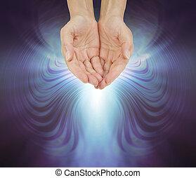 Offering healing energy