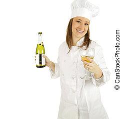 offerta, champagne