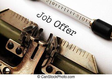 offerta lavoro
