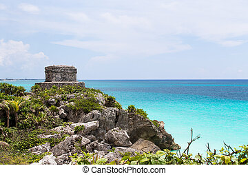 Offertories Building at Tulum Mexico - Offertories building...