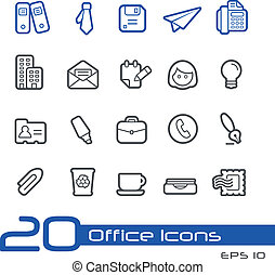 Office and Business Icons // Line S