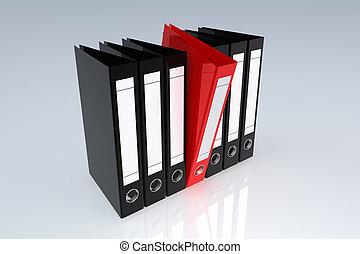Office archive folders