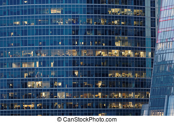 Office building background