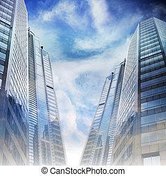 Cityscape - Office Building Cityscape