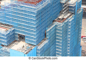 Office building construction