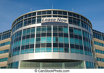 Office building for lease - Modern glass office building...