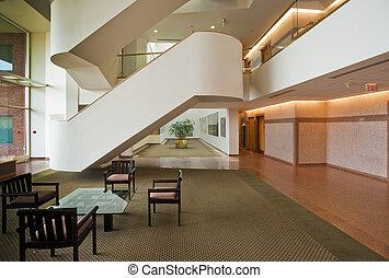 Office building lobby
