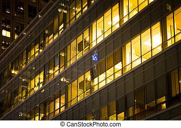 Office Building Night