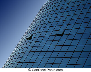 Office building - Nice office building background
