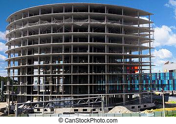 Office Building under construction.