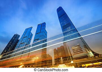 Office Buildings, Hong Kong - Office buildings...